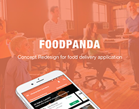 Foodpanda Redesign Concept