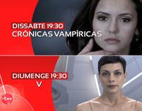 V + Vampire Diaries