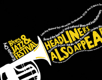 Kansas City Blues and Jazz Festival Campaign