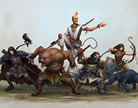 D&D Character Group