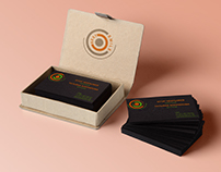 Logo, business cards for photographers