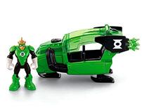 Fisher Price Green Lantern Turbo Sled