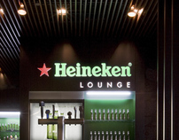 Heineken Lounge Identity
