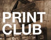 Edinboro Print Club Promo Poster Series