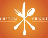 Custom Cuisine Identity System