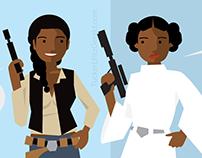 Hannah and Leia