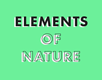Elements of Nature Calendar