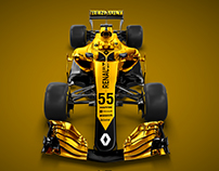 Renault RS18 DRIVETRIBE Concept Livery