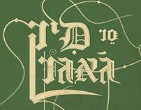 Levontin 7 typographic posters