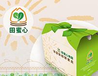 田蜜心果園品牌形象設計