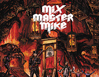Mix Master Mike - Magma Chamber Album Cover