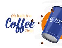 Recipe Cafe - Social media designs