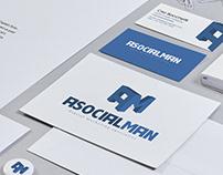AsocialMan - Logo