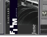 Havard Film Archive Pamphlet