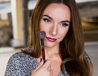 make-up artist photoshoot