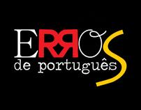 Erros de Português [logotype]