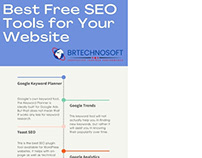 Best Free SEO Tools for your Website - Infographics