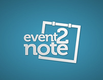 event2note iPhone App