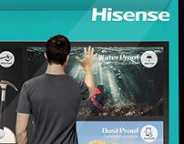 Hisense Digital Window Display