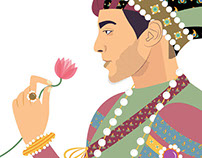 Mughal Portraits 2: Henna & Yusuf