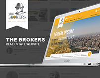 The Brokers - Real Estate Website