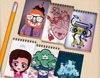 GUTURO sketchbooks