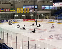 Sledge Hockey Love in Small Town Sask.