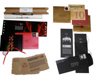 Agency 10th Anniversary Celebration Mailers