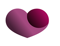 Heart Logo Design Golden Ratio