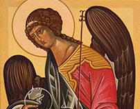 Икона Архангел Гавриил   Icon of the Archangel Gabriel