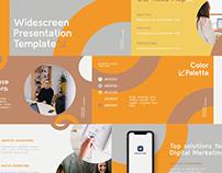 Free Presentation Keynote Design Template