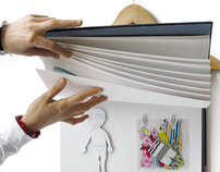 Hang up a book in your closet