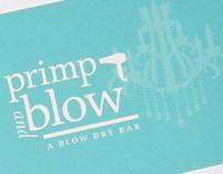 Primp and Blow Branding