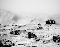 ICELAND in Black & White