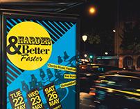 Harder Better Faster poster