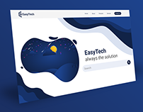 EasyTech - Landing Page