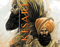 Kesari movie_fan art poster