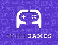 Logo for game portal