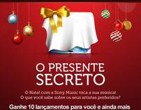 Fan Page Sony Music Brasil - Promoção de Natal