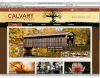 Calvary CRC of Lowell Website