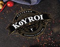 "Photo & menu design for restaurant ""KOYROI"""
