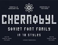 Chernobyl - Free Soviet Brutalist Font