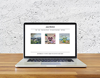 Artist Website Design