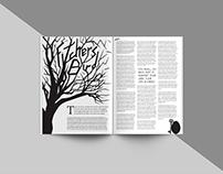 Fitcher's Bird Magazine Layout