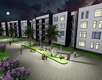 Housing Project (Urban Landscape)