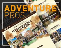 Adventure Pros Website