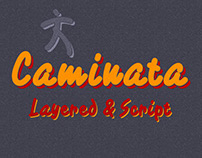 Caminata layered fonts