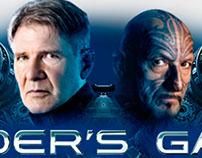 Enders Game Flash Expandable Interactive Video Banner