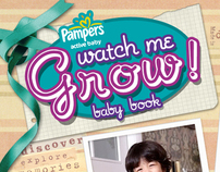 (WEB) Pampers Watch Me Grow Baby Book