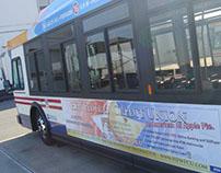 HEWFCU Bus Ads